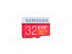 Карта памяти Samsung microSD EVO Plus 80MB/S 32GB + SD adapter